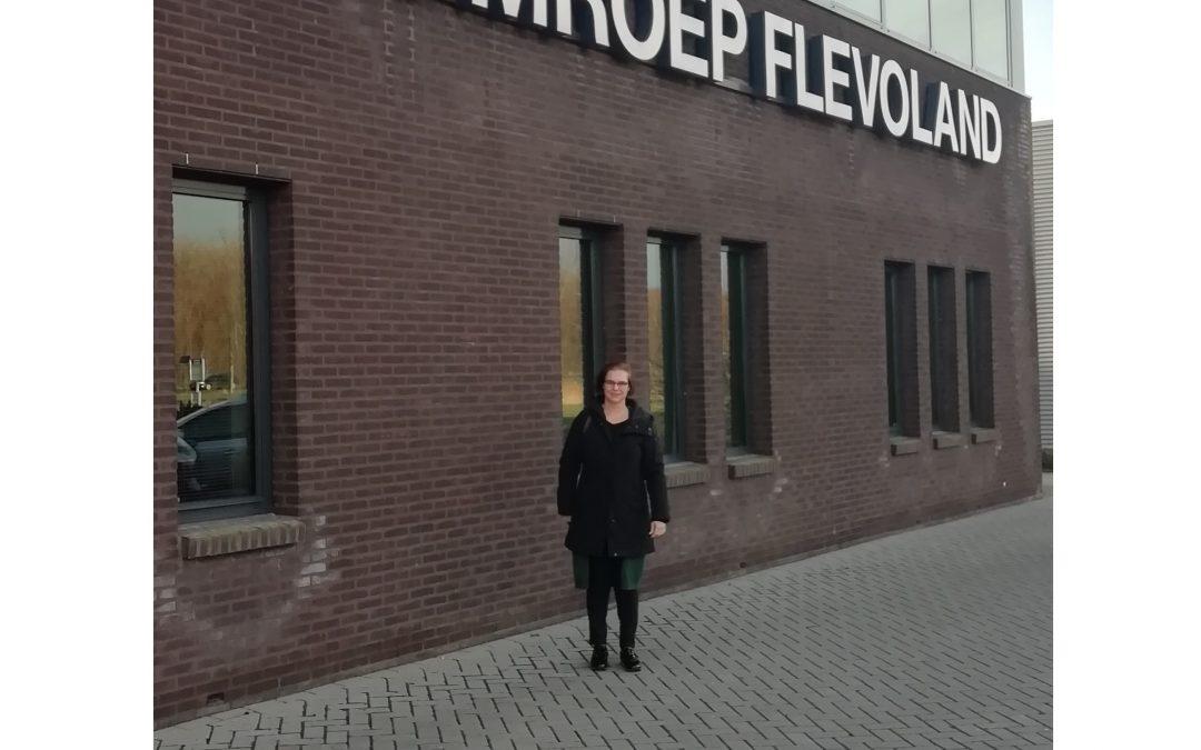 Geen Parfum bij Omroep Flevoland.
